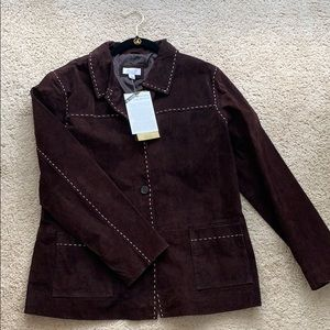 NWT D&co leather jacket